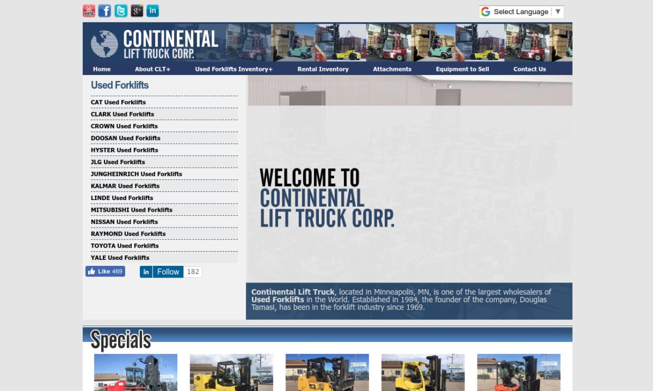 Continental Lift Truck Corp.