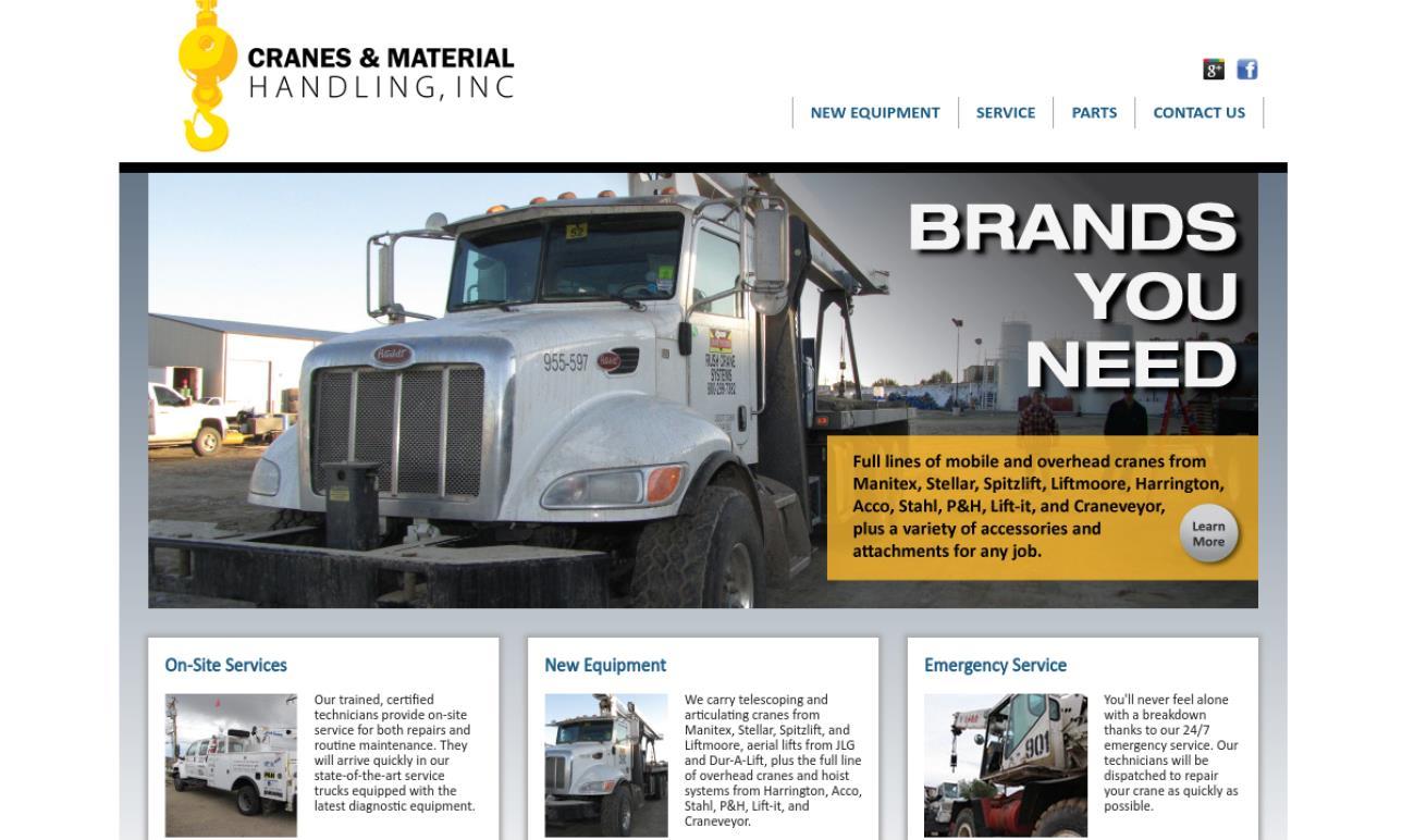 Cranes & Material Handling, Inc.