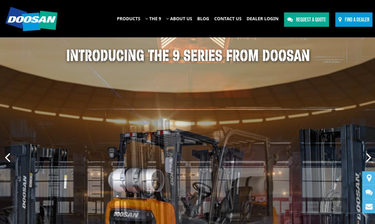 Doosan Industrial Vehicle America Corp.