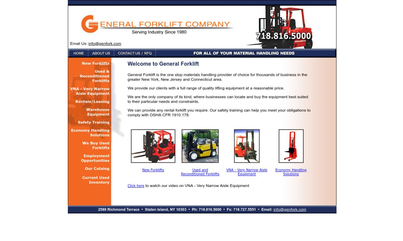 General Forklift Company