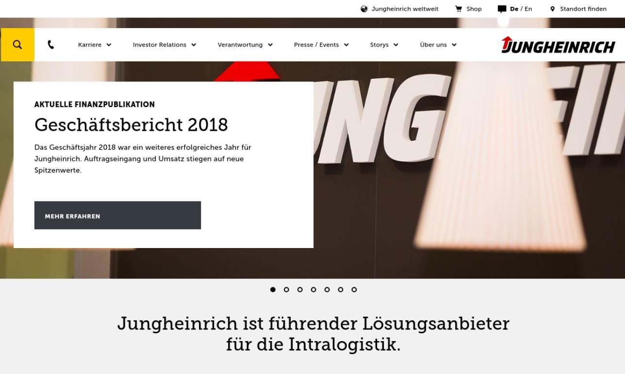Jungheinrich Lift Truck Corp.