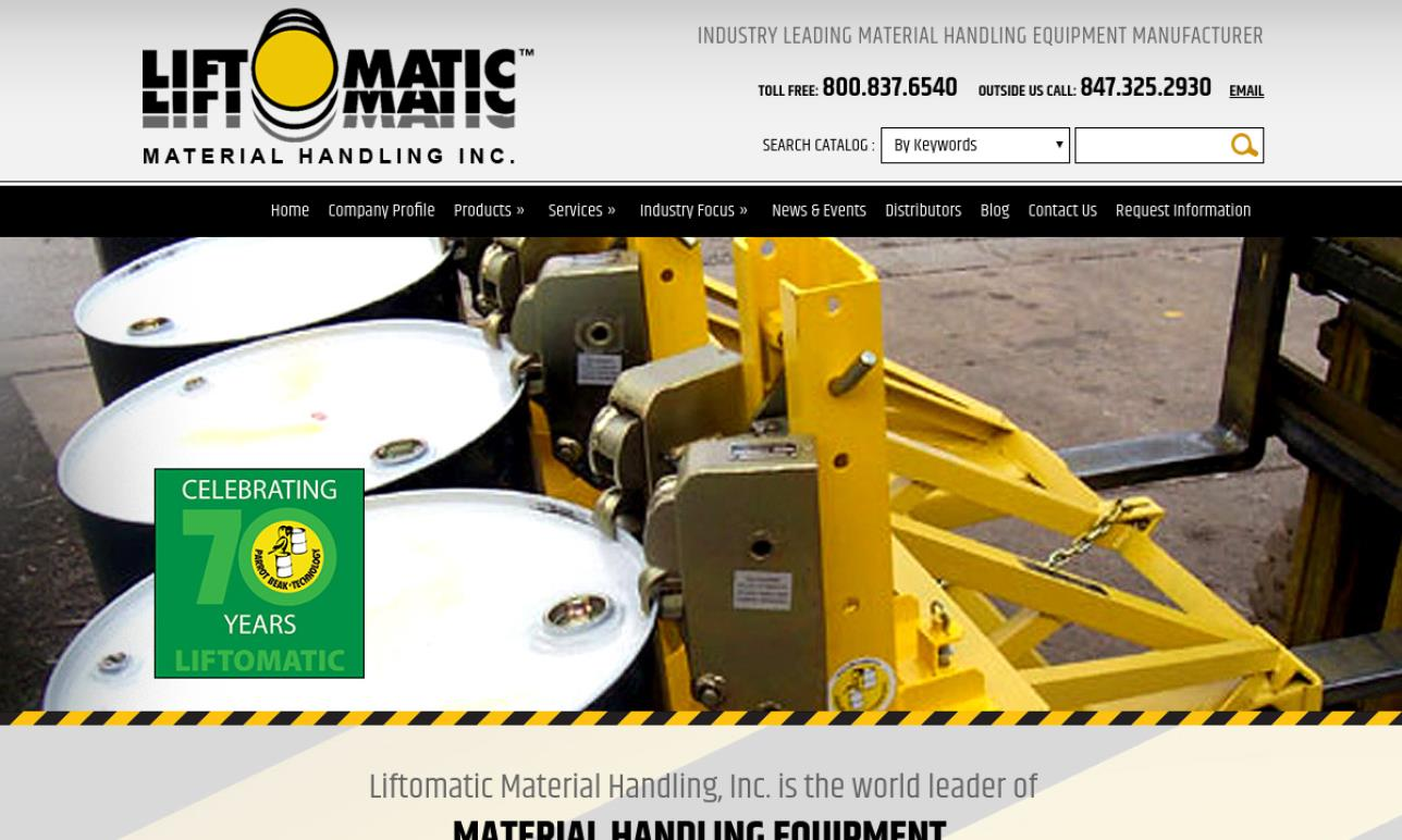 Liftomatic Material Handling, Inc.