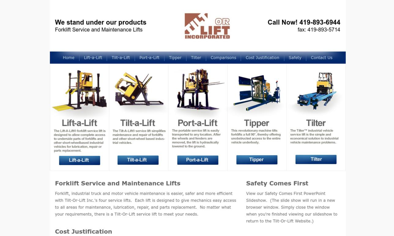 Tilt-Or-Lift, Inc.