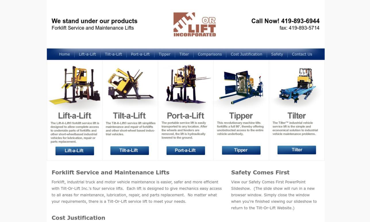 Tilt-Or-Lift, Inc.