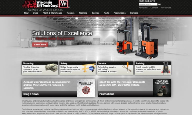 Wisconsin Lift Truck Corp.